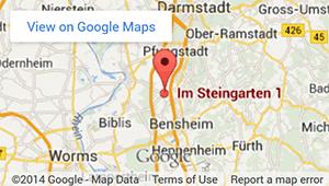 Google Maps Ansicht Zahnarzt-Praxis Dr. Suppelt in Alsbach-Hähnlein